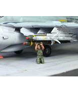 USAF Ground Support Crew 1:72 Pro Built Model #7 - $14.83