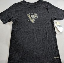 LZ CCM Women's Sm Pittsburgh Penguins Hockey Blue NHL T-Shirt Tee Shirt ... - $9.49