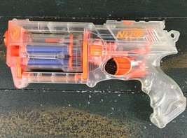 NERF Clear Maverick REV 6 N Strike Revolver Children's Toy Gun  - $14.84