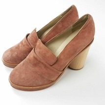 Anthropologie Lou Loafer Platform Heel Ouigal 39 - $94.05