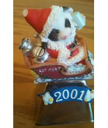 Mary's moo moo 2001 Christmas Bell - $6.66