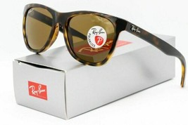 Ray ban Rb4184 710/83 Gafas de Sol Polarizadas Havana Carey/ Marrón Clásico - $106.25