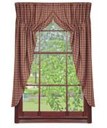 Olivia's Heartland country primitive Vintage Star Wine window PRAIRIE CU... - $59.99