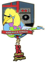 Disney Pin 44868 DLR Passholder E Ticket America Sings Muppets Big Bird LE - $59.35