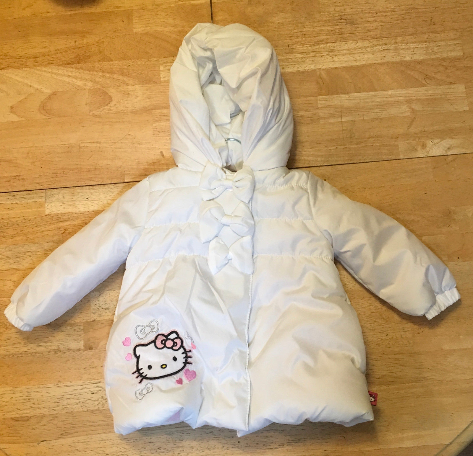 93277c335 Hellokittypufferjacket. Hellokittypufferjacket. Previous. HELLO KITTY  BABY'S PUFFER JACKET size 18 mos