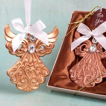 Rose Gold Guardian Angel Ornament from Fashioncraft  - $4.99