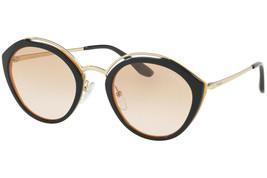 Prada Evolution PR18US  WU0232 Blue/Orange Lens Sunglasses 53mm Authentic  - $213.40