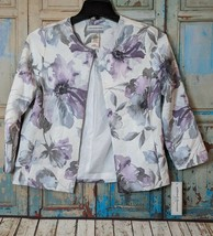 Alfred Dunner Womens Petite 6P Smart Investment 2018 Multicolor Floral Top - $24.74