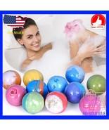 12 Bath bombs fizzies handmade gift set assorted premium quality non gmo... - $26.85