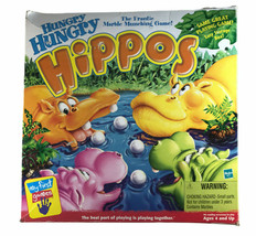 2000 Milton Bradley Hungry Hungry Hippos Game Complete w/ Box - $32.66