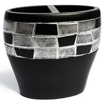 Popular Bath Mosaic Stone Black Bath Collection - Bathroom Tooth Brush H... - $19.29
