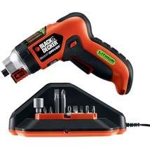 BLACK+DECKER(TM) LI4000 4-Volt MAX* Lithium Screwdriver with Screw Holder - $64.33