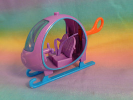 Polly Pocket Tropical Trips Helicopter in Hawaii - Purple - as is - part... - $3.35