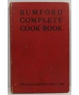 Rumford Complete Cook Book by Lily Haxworth Wallace 1948 - $6.99