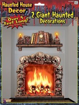 Haunted House Giant Wall Decoration , Halloween Party Prop/Room Decoration - $6.26