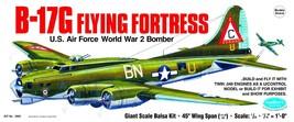 Guillow's Balsa Model Airplane Kit WW II Boeing B-17G Flying Fortress  G... - $167.37