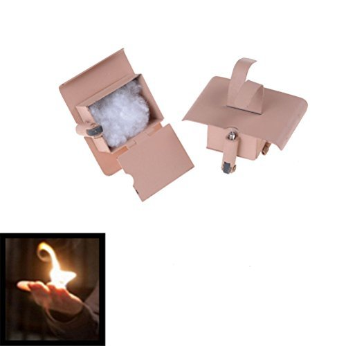 YGS Conjure Up Fire Flame Hand Gimmicks Close Up Stage Magic Trick - One Item w/