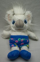 1997 BARNEY & FRIENDS TWINKEN WHITE KOALA Water Pal STUFFED ANIMAL Bath Toy - $24.74