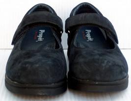 Propet W0029 Women's Navy Mary Jane Walking Comfort Shoe's Flats -- Size... - $32.66