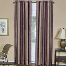 "Achim Home Furnishings Ombre Window Curtain Panel, 50"" x 84"", Aubergine - $31.30+"