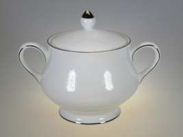 Wedgwood Silver Ermine Covered Sugar - $25.69