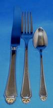 Oneida Stainless Golden Henley Flatware Knife, Fork, Spoon - $19.75