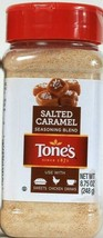 1 Tone's 8.75 Oz Salted Caramel Seasoning Blend Use With Sweets Chicken Drinks - $14.99