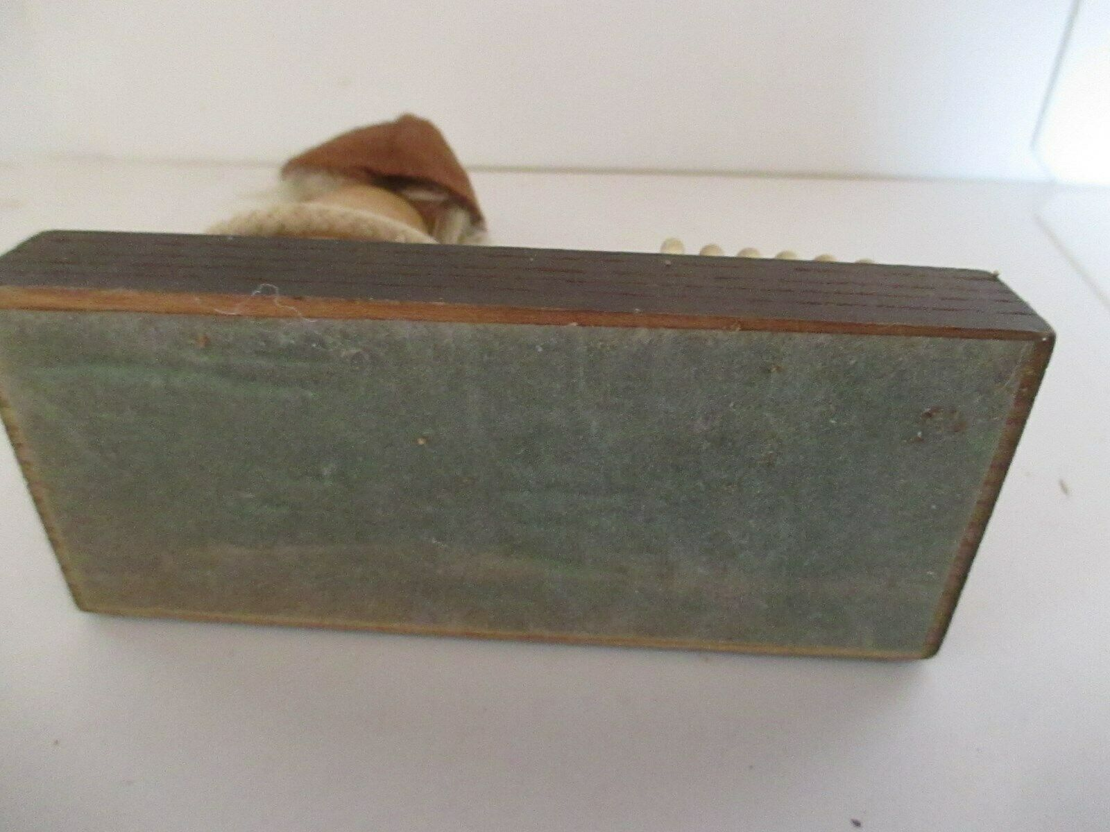 Vintage Wood Pipe Smoker Gnome Letter Holder