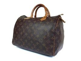Authentic Louis Vuitton Speedy 30 Monogram Canvas Hand Bag LH1614 - $298.00