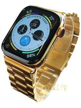 24K Gold Plated 44MM Apple Watch SERIES 4 With Gold Links Band - €1.028,27 EUR