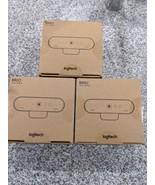 Brand new Logitech brio 4k webcam web cam webcam 60 fps office school new - $325.00