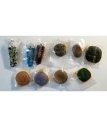 Grab Bag 2 Fun Stone Pendants One Larger & One Smaller - $12.99