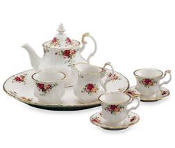 Royal Albert Old Country Roses Le Petite Mini Tea Set 8 PIECES NEW IN HA... - $84.14
