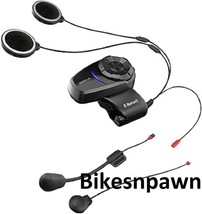 New Sena 10S Motorcycle Intercom Bluetooth 4.1 Communication System Dual Pack image 2