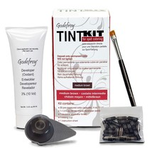 Godefroy Professional Eyebrow Tint Kit 20 Applications Choose Your Color - $17.35