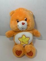 Care Bears Laugh-a-Lot plush orange yellow star teddy stuffed animal toy... - $12.86