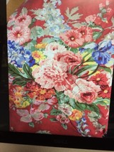 4 pc.Ralph Lauren Southampton Beach House Floral sz FULL FLAT FITTED PIL... - $163.28