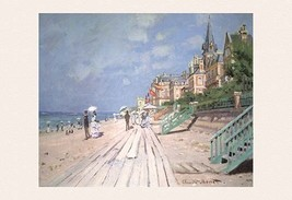 The Boardwalk at Trouville by Claude Monet - Art Print - $19.99+