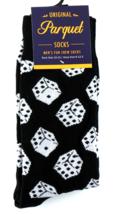 Gambling Dice Mens Novelty Black Crew Socks Casual Cotton Blend Fun Gamb... - $12.95