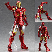 Figma 217 Marvel's The Avengers Iron Man Action Figure Toy Doll Model In stock - $31.99