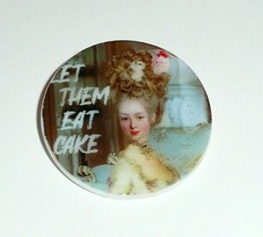 """Marie Antoinette """"Let Them Eat Cake"""" MOP -  Mother of Pearl Shank Button... - $11.87"""