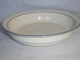 Lenox Chinastone Blue Pattern Vegetable Bowl for blue Pattern Blue Trim ... - $11.99