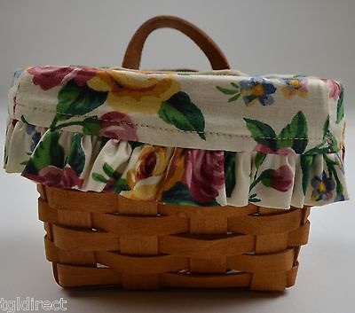 Primary image for Longaberger 1994 Ambrosia Basket Combo With Liner And Protector Collectible Set