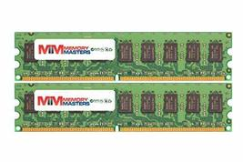 MemoryMasters 4GB (2x2GB) DDR2-800MHz PC2-6400 ECC UDIMM 2Rx8 1.8V Unbuffered Me