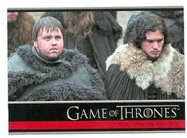 Game of Thrones trading card #20 2012 Jon Snow Sam Tarly - $4.00