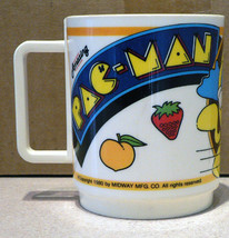 PAC-MAN Amazing plastic cup 1980 by  Midway Mfg. Co. - $12.99