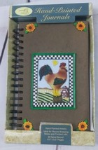 Hand Painted Journals Rooster 80 spiral pages - $7.69