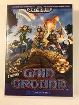 Gain Ground - Sega Genesis - Replacement Case - No Game - $7.91