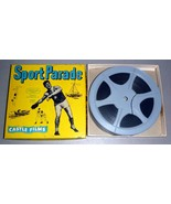 """Fishing Thrills - Castle Films Sport Parade #331 8mm 5"""" Reel - $14.75"""