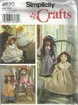 "Simplicity Crafts Pattern-Elaine Heigl- 25"" Doll & Clothes-UNCUT - $8.56"